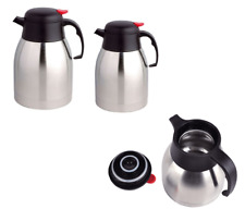 Thermos Flask For Tea Coffee Stainless Steel Hot & Cold Insulated Vacuum Jug