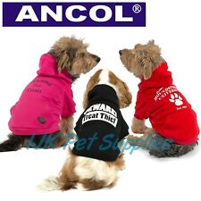 Ancol Dog Puppy Warm Fashion Cute Hoodie Sweater Jumper Sweatshirt