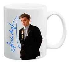 M063 RIK MAYALL bottom yes minister signature autograph autographed MUG CUP