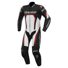 Tuta Moto in Pelle Alpinestars MOTEGI Leather Suit con Protezioni per Pista