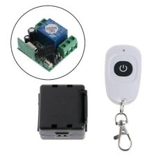 12V 1CH DC Wireless Remote Control Switch Relay Receiver Module + Transmitter