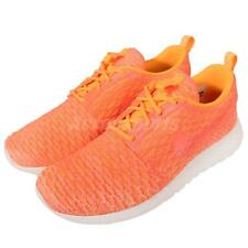 Nike Wmns Roshe One Flyknit Rosherun Orange Womens Running Shoes 704927-802