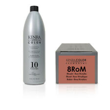Kenra Color Metallic Collection Permanent Hair Colour 8RoM 85g + Kenra Creme ...