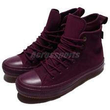Converse Chuck Taylor WP Boot Hi Counter Climate Red Wine Gum Men Shoes 157458C