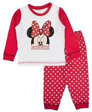 Baby Girls Minnie Mouse Disney Pyjamas Bow 6 to 24 Months 27524