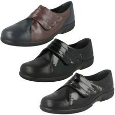 Mujer Easy B Corte Ancho Zapato plano BAKEWELL
