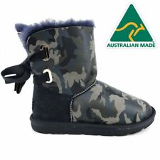 36908 Mubo UGG Women's Boots  NAVY Camouflage Colour