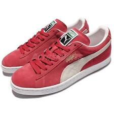 Puma Suede Classic Team Regal Red Mens Vintage Shoes Classic Sneakers 352634-05