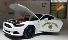 LGB G 1:24 Scale 2015 Ford Mustang GT Highway Patrol Police Diecast Model Car