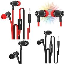 Universal Heavy Bass Earphone with MIC In-Ear Noise Isolation Handsfree Exercise