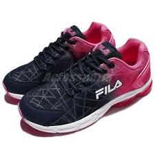 Fila J908R Capsule Pink Navy White Women Running Shoes Sneakers Trainers