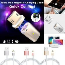 Fast Micro USB Charging Cable 2.4A Magnetic Adapter Charger For Android Samsung
