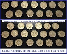 £1 One Pound Rare Coins British Capital City LONDON CARDIFF Coin Hunt 1983-2016