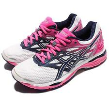 Asics Gel-Cumulus 18 Pink White Women Running Shoes Sneakers Trainers T6C8N-0149