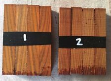 Cocobolo (rosewood) pen blank / turning blank sets