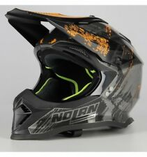 Casco Off Road Nolan N53 Cliffhanger Scratched Chrome