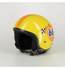 Casco Demi-jet Mrobert Mr66 Senza Visiera Giallo Fant