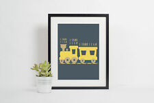 The Little Engine - I Think I Can I Think I Can I Think I Can poster kids room