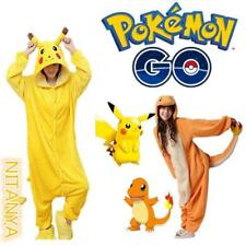 new  Adult / Kid Animal Onesie Pajamas Pokemon Charmander Pikachu Costume