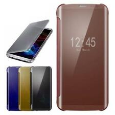 For Samsung Galaxy Note 8 S8 + Mirror Plating Clear View Smart Flip Case Cover !