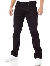Volcom Black On Black Solver Modern Straight Fit Jeans