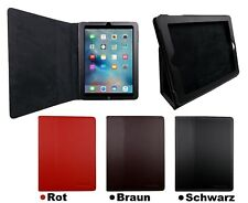 Piel Artificial FUNDA PROTECTORA IPAD 2 3 4 Bolso Plegable Funda para tablet