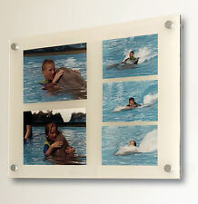 """Cheshire Acrylic 8x10 / 10 x 8"""" / 5 x 7/  multi picture photo frame all colour"""