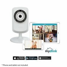 D-Link DCS-932L WIRELESS GIORNO/NOTTE Cloud IP CASA Videocamera Monitor IOS O
