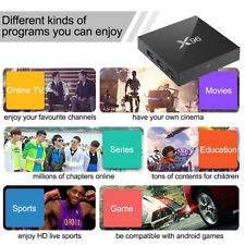 1GB/2GB+8GB/16GB X96 Android 6.0 4K HD SD Smart TV Box Quad-Core WIFI 3D IR IT