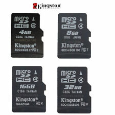 Kingston Micro SD SDHC 4GB/8GB/16GO/32GB TF Flash C4 Carte Mémoire f TéléPhone