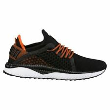 Scarpe Shoes PUMA TSUGI NETFIT Trainers Black-Scarlet Ibis-White