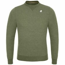 K-WAY felpe UOMO PULLOVER prv/est AUGUSTINE FRENCH TERRY SUMMER KWAY X5Pcyzcheo