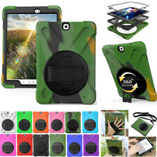 Rotating Heavy Duty Stand Case Cover For Samsung Galaxy Tab E S A 8.0 9.7 Tablet