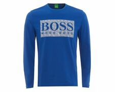 Hugo Boss Green TOGN 1 50325612 493 Long Sleeve T-Shirt Blue Top
