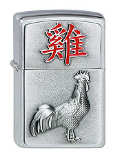 2002457 Zippo Feuerzeug Year of the Rooster - pers. Gravur möglich