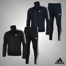 Mens Genuine Adidas Stylish Sporty Look Tiro Poly Suit 3 Stripes Tracksuit