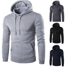 hommes Uni PULL PULL-OVER PULL PULL-OVER travail décontracté LOISIR HAUT NEUF