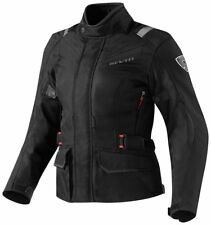 Giacca donna moto Revit Rev'It Voltiac Lady Black touring turismo