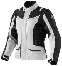Giacca moto donna Revit Rev'It Voltiac lady argento nero touring turismo