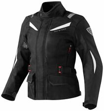 Giacca moto donna Revit Rev'It Voltiac lady Ladies Black White nero bianco