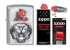 2001676 Zippo Feuerzeug Year of the Tiger + Basic Pack - pers. Gravur möglich