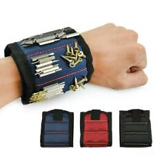 Tool Bag Electrician Wrist Tool Belt Screw Polyester Magnetic Wristband Portable