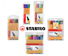 STABILO Point 88 Fineliner Superfine Pens - 0.4mm - Assorted Colours & Pack Size