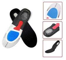 UNISEX ORTHOTIC SHOE INSOLES PADS TRAINER FOOT FEET RELIEF COMFORT GEL HEEL NEW