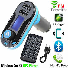Bluetooth Car Kit FM Transmitter Radio MP3 Music Player With USB Port Wireless