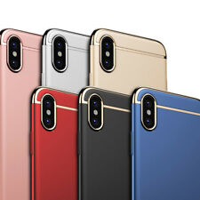Luxury  3in1 Electroplated Hybrid Back Case Cover For Apple iPhone X ( 10 TEN )