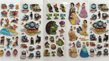Party bag STICKERS kids characters fillers rewards birthday QTY 1-20 packs