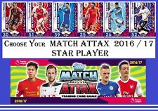 Choose Your MATCH ATTAX 2016 2017 Topps 16/17 STAR PLAYER Cards