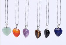 Necklaces Pendant Healing Jewelry Necklace Girls Natural Gemstone Pendant Women