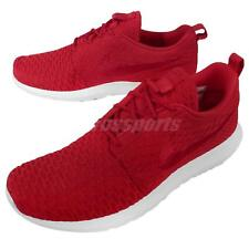 Nike Roshe NM Flyknit Red White Mens Running Shoes Lifestyle Sneakers 677243-603